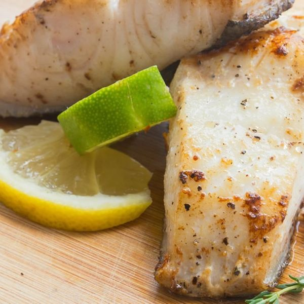 American Black COD Fish Steak